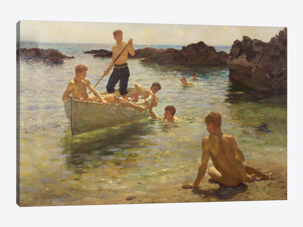 Morning Splendour, 1922  by Henry Scott Tuke 1-piece Canvas Artwork