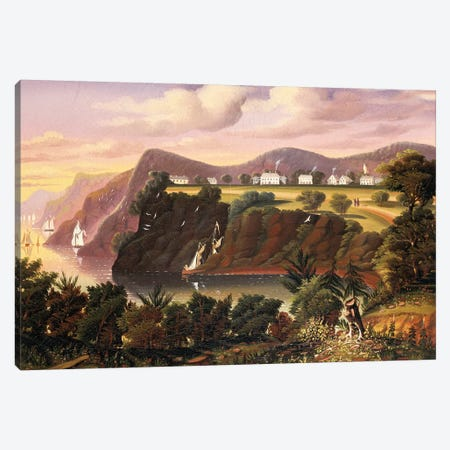 View from West Point  Canvas Print #BMN5482} by Thomas Chambers Art Print
