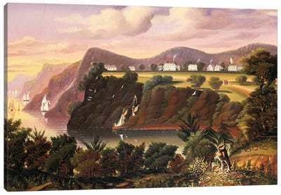 View from West Point  Canvas Art Print