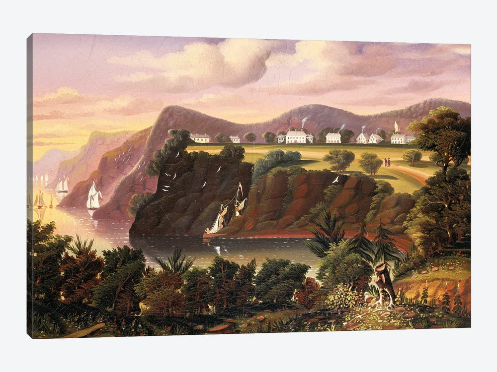 View from West Point  by Thomas Chambers 1-piece Canvas Wall Art