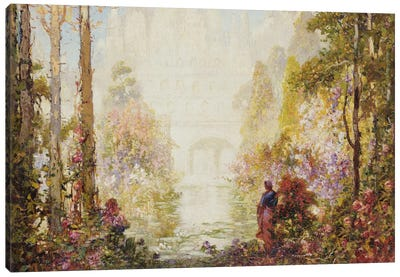 Sita's Garden II  Canvas Art Print