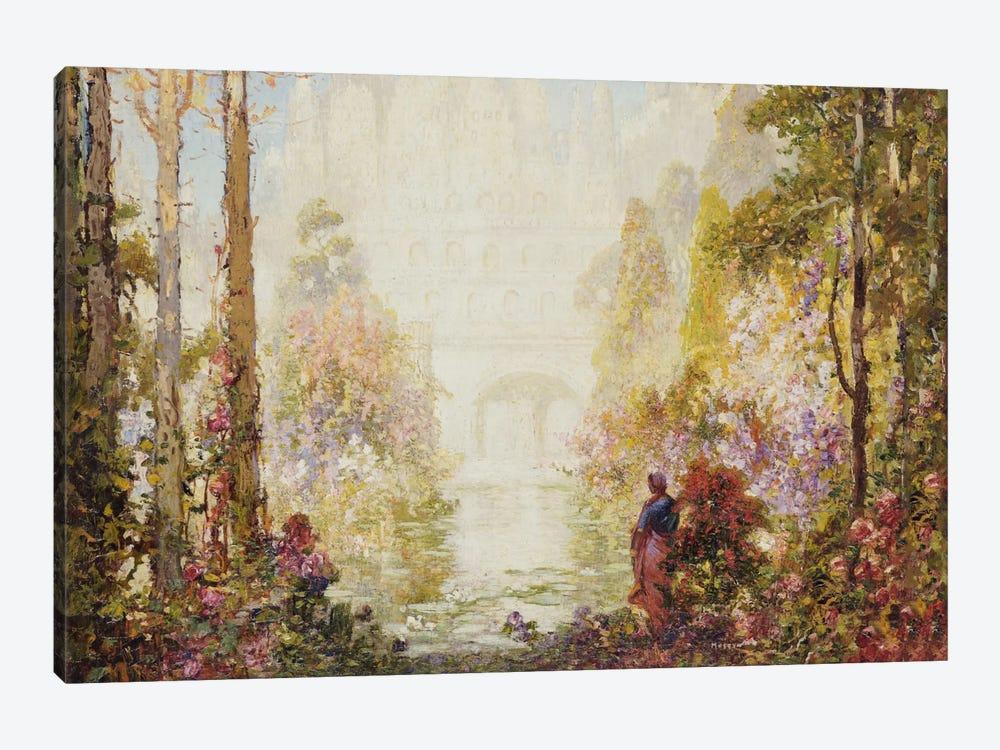 Sita's Garden II  by Thomas Edwin Mostyn 1-piece Canvas Artwork