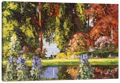 The Garden by the Sea  Canvas Art Print