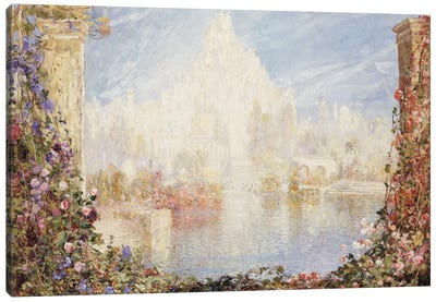 Fairyland Castle  Canvas Art Print