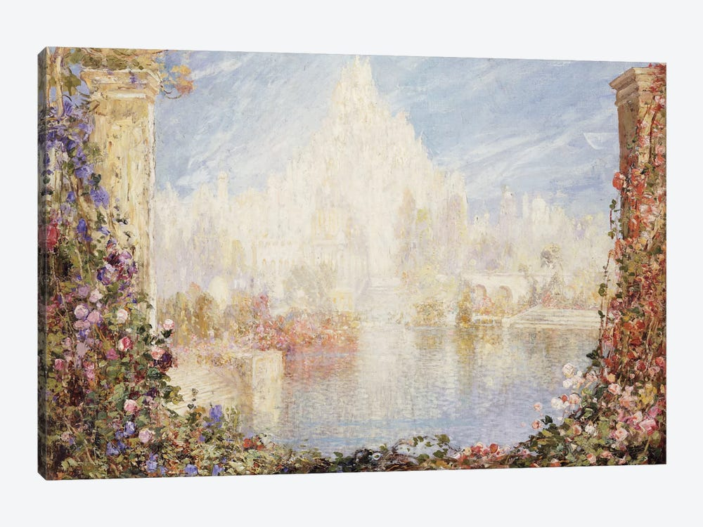 Fairyland Castle  by Thomas Edwin Mostyn 1-piece Canvas Art