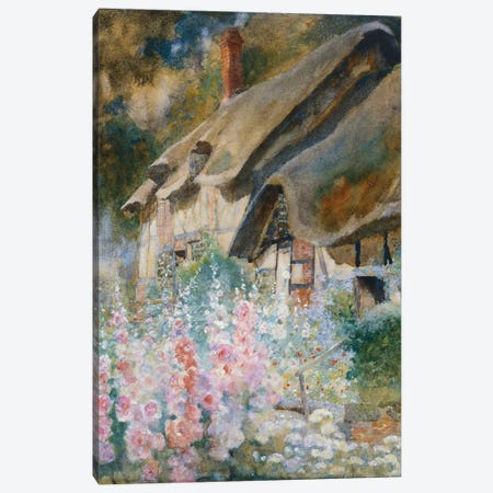 Anne Hathaway's Cottage  Canvas Print #BMN5487} by David Woodlock Canvas Wall Art