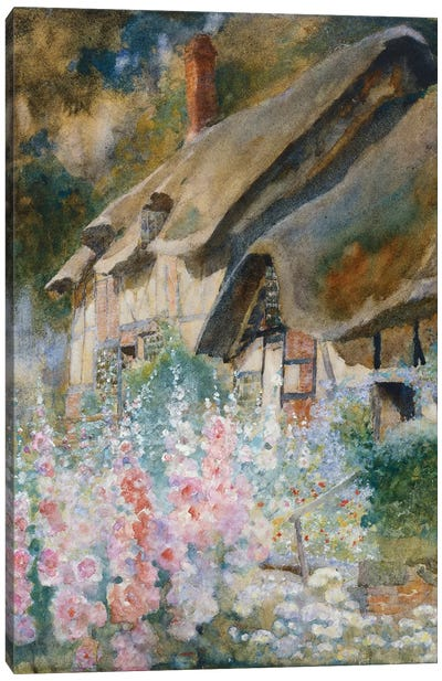 Anne Hathaway's Cottage  Canvas Art Print