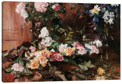 Roses, 1910 Canvas Art Print