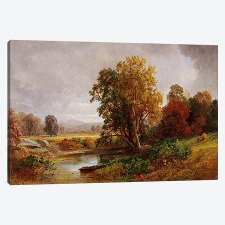 Autumn Landscape, 1882  Canvas Print #BMN5498} by Jasper Francis Cropsey Canvas Artwork