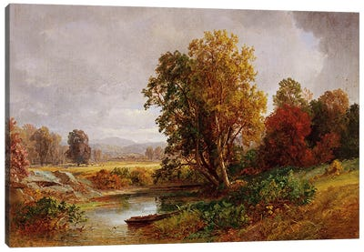 Autumn Landscape, 1882  Canvas Art Print