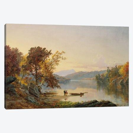 Lake George, 1871  Canvas Print #BMN5499} by Jasper Francis Cropsey Canvas Artwork