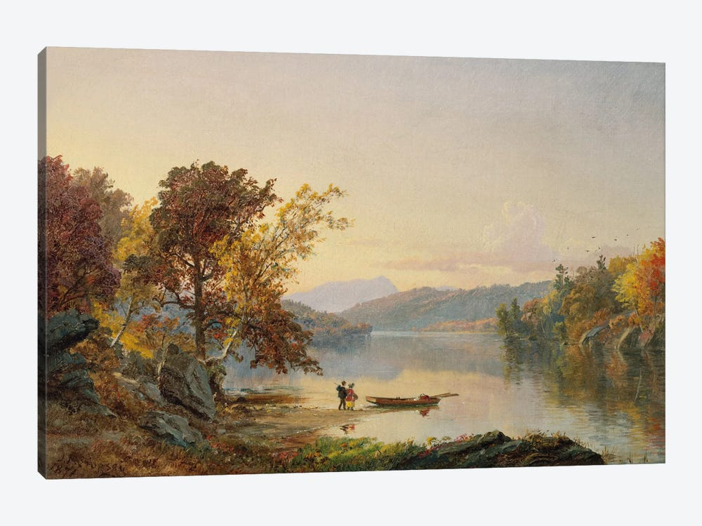 Lake George, 1871  by Jasper Francis Cropsey 1-piece Canvas Artwork