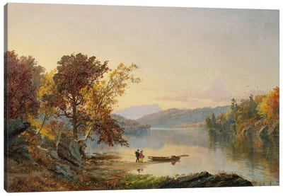 Lake George, 1871  Canvas Art Print
