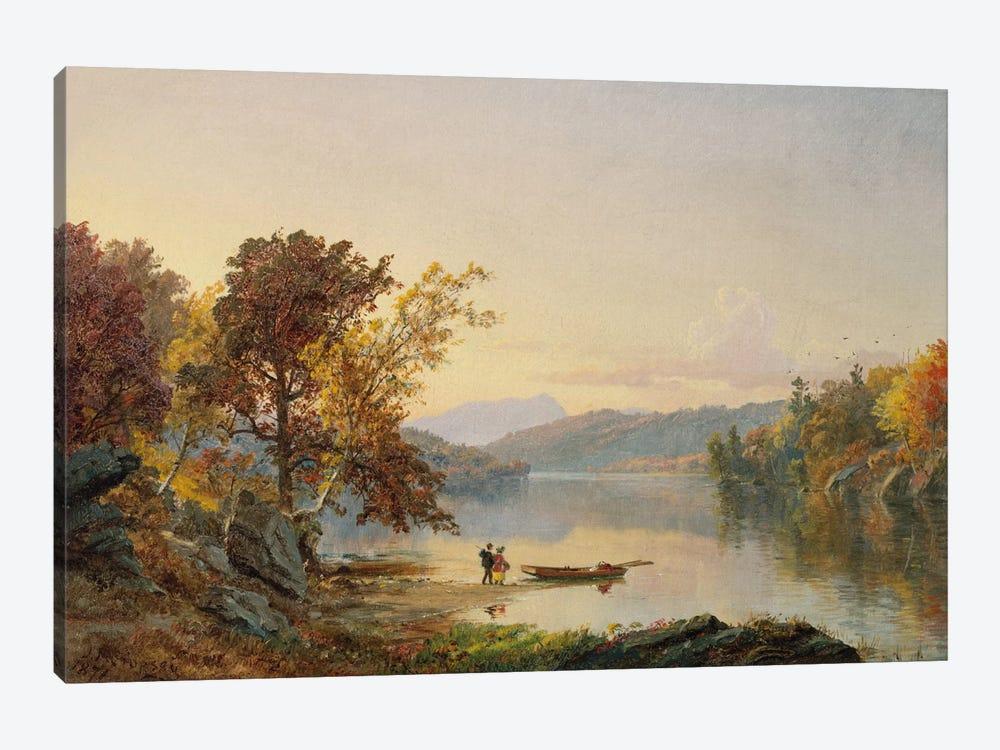 Lake George, 1871  by Jasper Francis Cropsey 1-piece Canvas Artwork