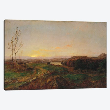 Early Evening Landscape  Canvas Print #BMN5500} by Jasper Francis Cropsey Canvas Art