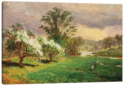 Apple Blossom Time, 1899  Canvas Art Print