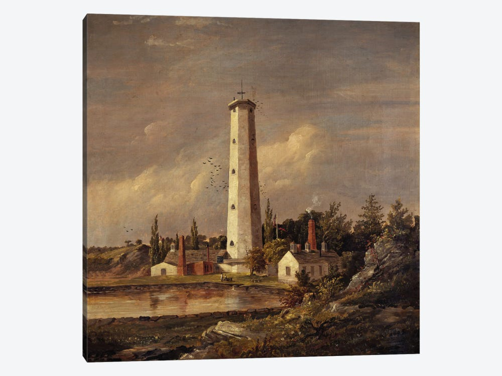 Shot Tower, 1845 by Jasper Francis Cropsey 1-piece Art Print