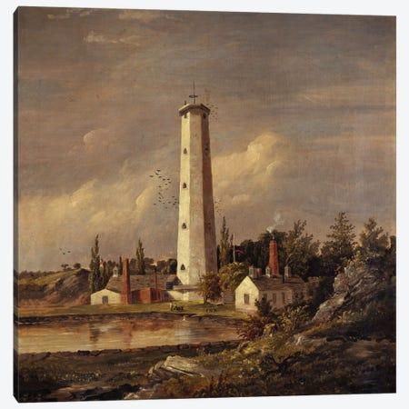 Shot Tower, 1845  Canvas Print #BMN5504} by Jasper Francis Cropsey Art Print