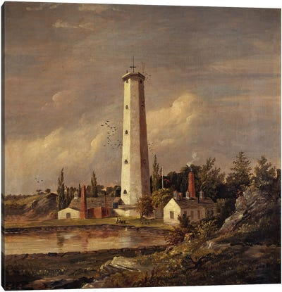 Shot Tower, 1845  Canvas Art Print