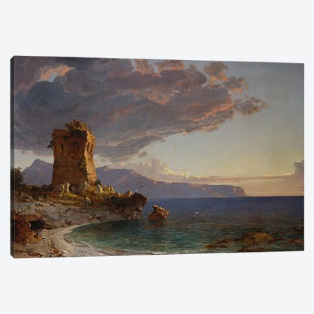 The Isle of Capri, 1893  Canvas Print #BMN5505} by Jasper Francis Cropsey Canvas Print