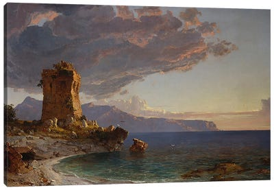 The Isle of Capri, 1893  Canvas Art Print