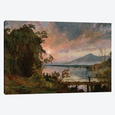 Autumn Splendor, 1896  Canvas Print #BMN5509} by Jasper Francis Cropsey Canvas Artwork