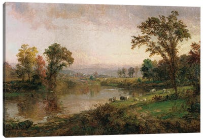 Riverscape - Early Autumn, 1888  Canvas Art Print