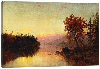 Greenwood Lake at Twilight, 1873  Canvas Print #BMN5511