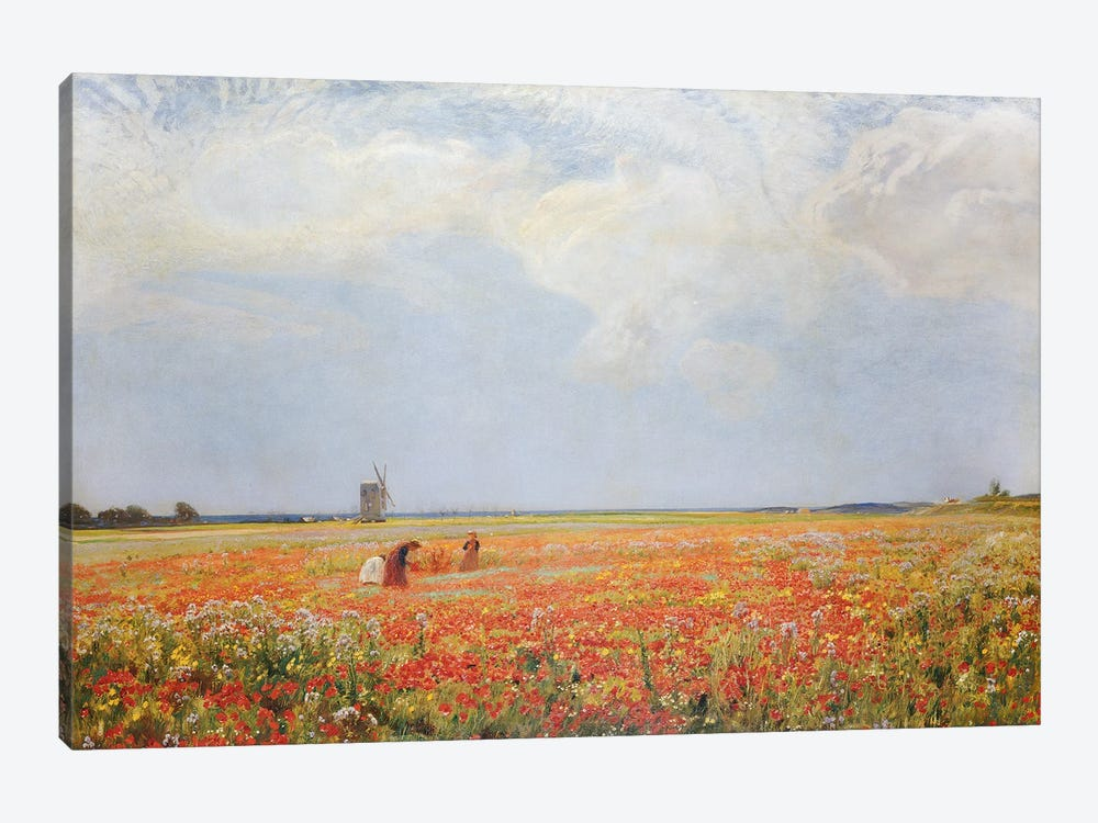 The Flower Pickers  by Sir David Murray 1-piece Canvas Print