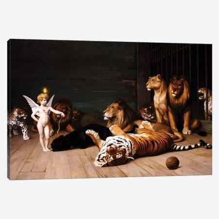 Whoever you are, Here is your Master  3-Piece Canvas #BMN5514} by Jean Leon Gerome Canvas Art