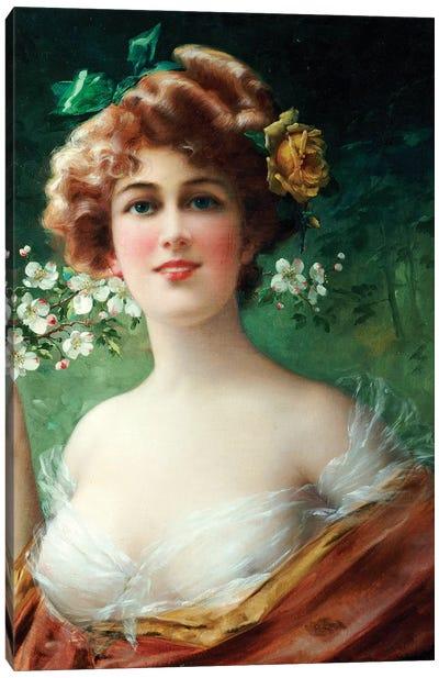 Blossoming Beauty  Canvas Art Print