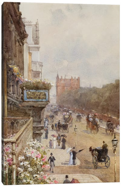 Piccadilly, 1894  Canvas Art Print