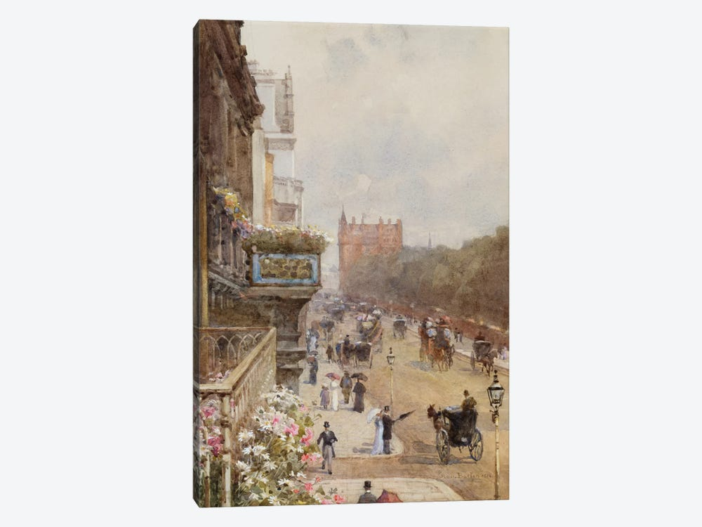 Piccadilly, 1894 by Rose Maynard Barton 1-piece Canvas Artwork
