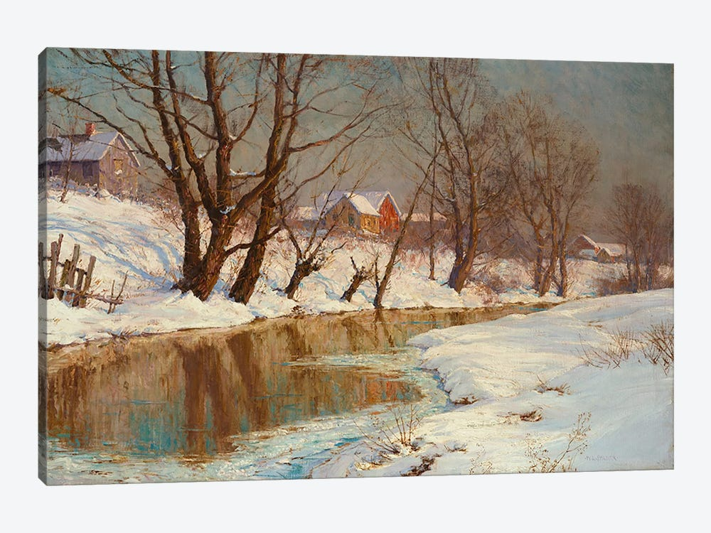Winter Morning  by Walter Launt Palmer 1-piece Art Print