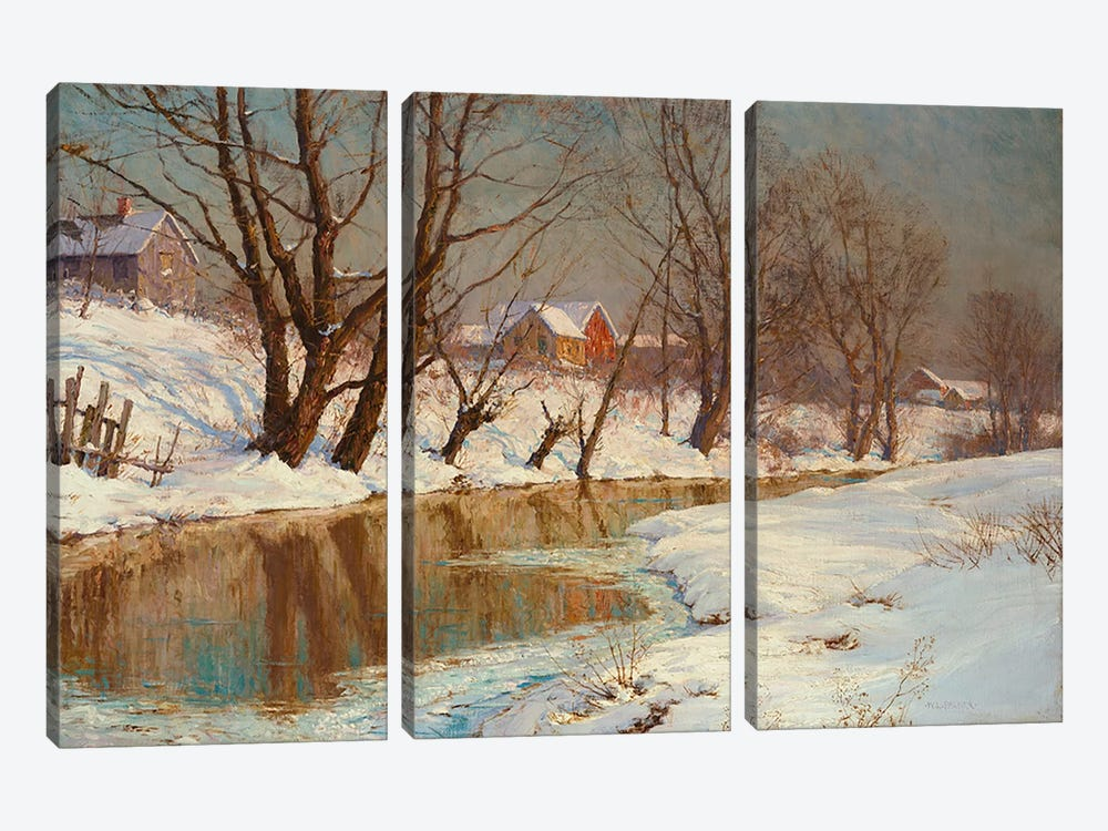 Winter Morning  by Walter Launt Palmer 3-piece Art Print