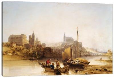 Blois on the Loire, 1840  Canvas Art Print