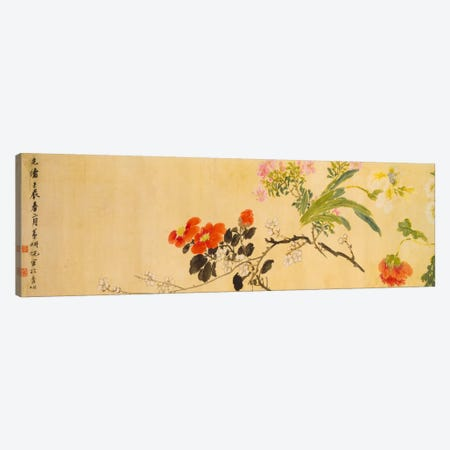 Flowers, 1892  Canvas Print #BMN5531} by Ni Tian Canvas Print