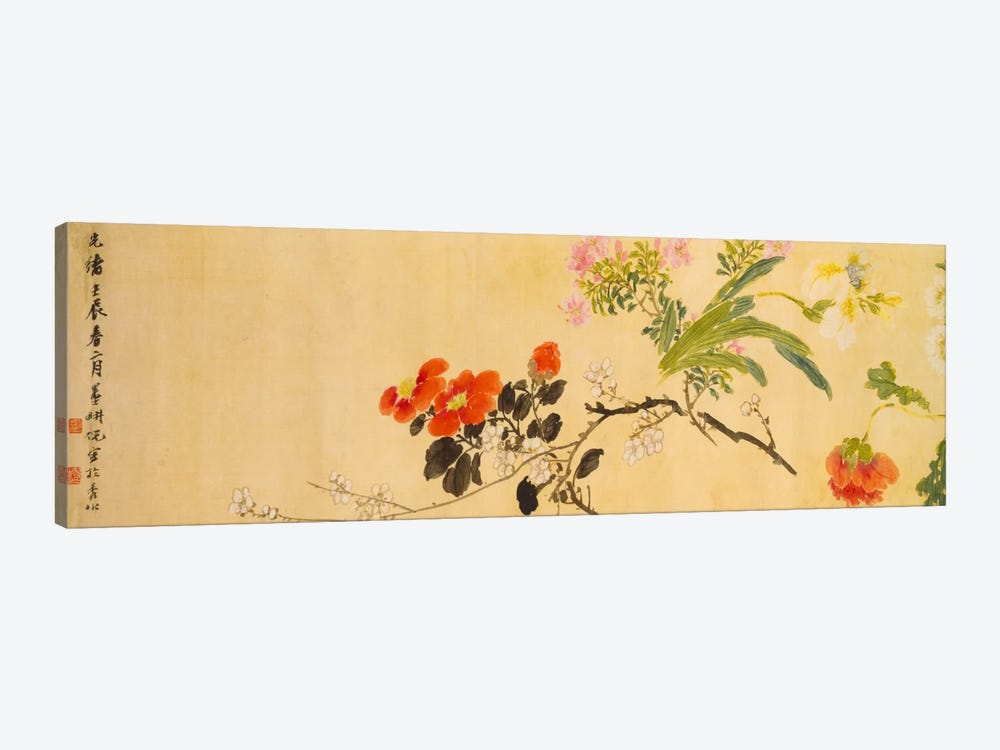 Flowers, 1892 by Ni Tian 1-piece Canvas Art Print