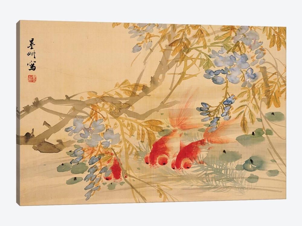 Goldfish  by Ni Tian 1-piece Canvas Print