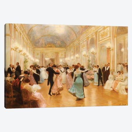 The Ball  Canvas Print #BMN5541} by Victor Gabriel Gilbert Canvas Art