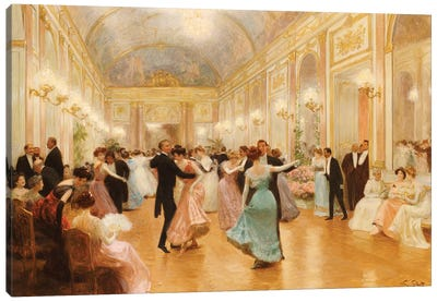 The Ball  Canvas Art Print