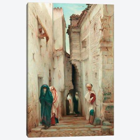 A Secret Admirer, 1873  Canvas Print #BMN5551} by Guillaume Charles Brun Art Print