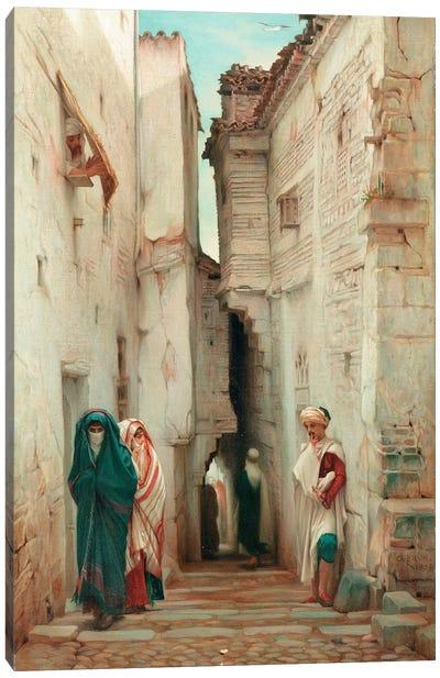 A Secret Admirer, 1873  Canvas Art Print
