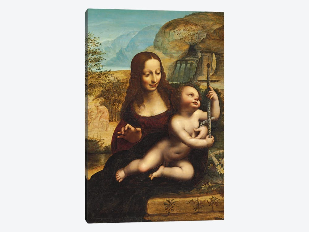 The Madonna of the Yarnwinder  1-piece Canvas Print