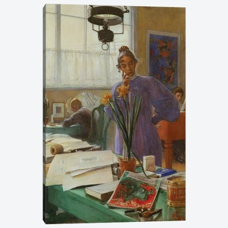 My Wife  Canvas Print #BMN5562} by Carl Larsson Canvas Art