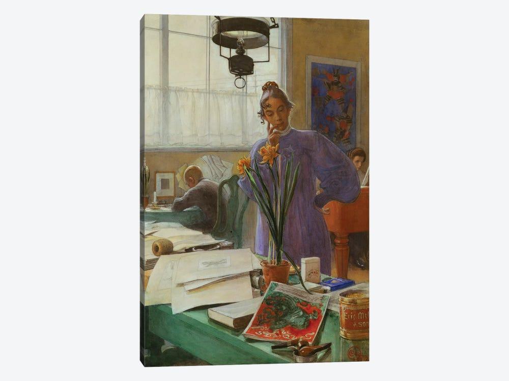 My Wife  by Carl Larsson 1-piece Art Print