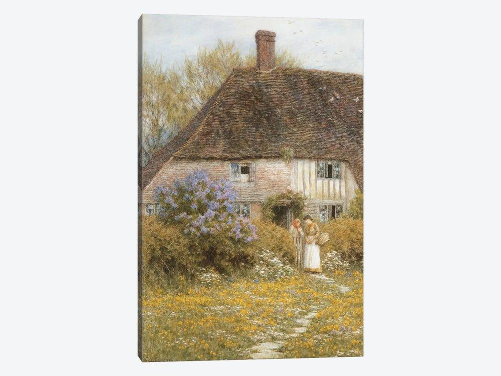 A Kentish Cottage  by Helen Allingham 1-piece Canvas Print