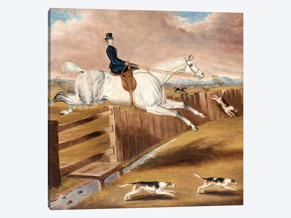 Over the Fence  by Samuel Spode 1-piece Art Print