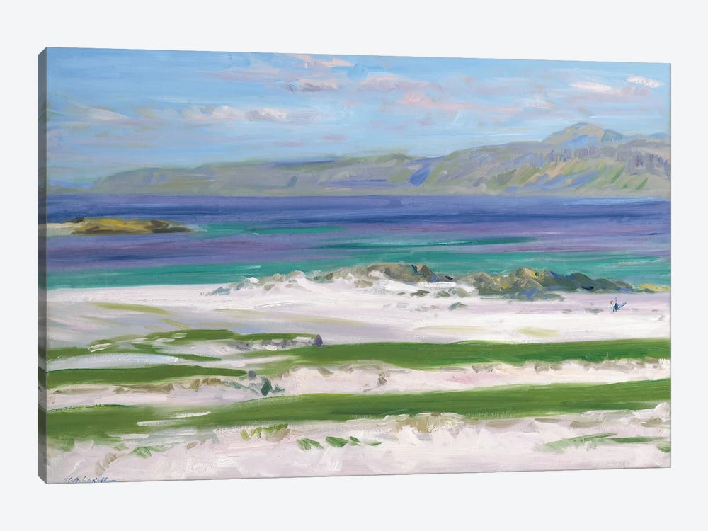 Iona Sound and Ben More by Francis Campbell Boileau Cadell 1-piece Canvas Artwork