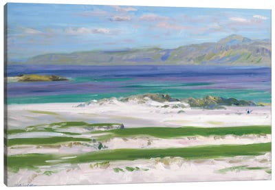 Iona Sound and Ben More  Canvas Art Print